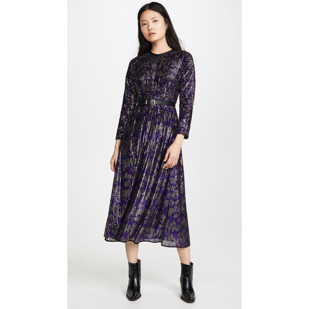 レイチェル コーミー Rachel Comey レディース ワンピース ワンピース・ドレス【Sequin Astraea Dress】Purple