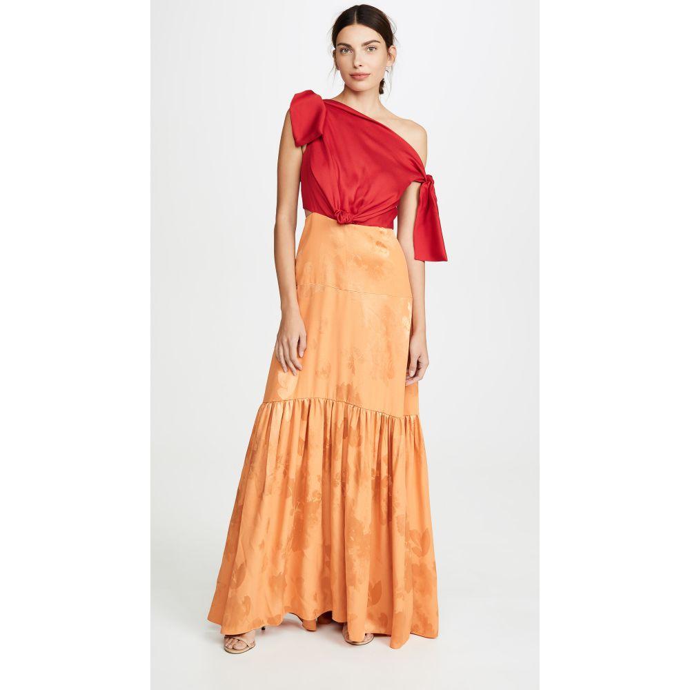 ヘレシー Hellessy レディース パーティードレス ワンピース・ドレス【Louise Gown】Rouge/Apricot