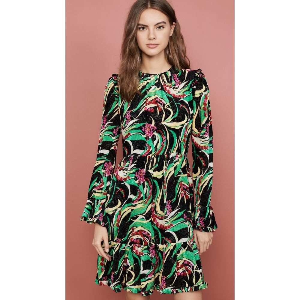 ラダブルジェー La Double J レディース ワンピース ワンピース・ドレス【Short Visconti Dress】Windy Flowers