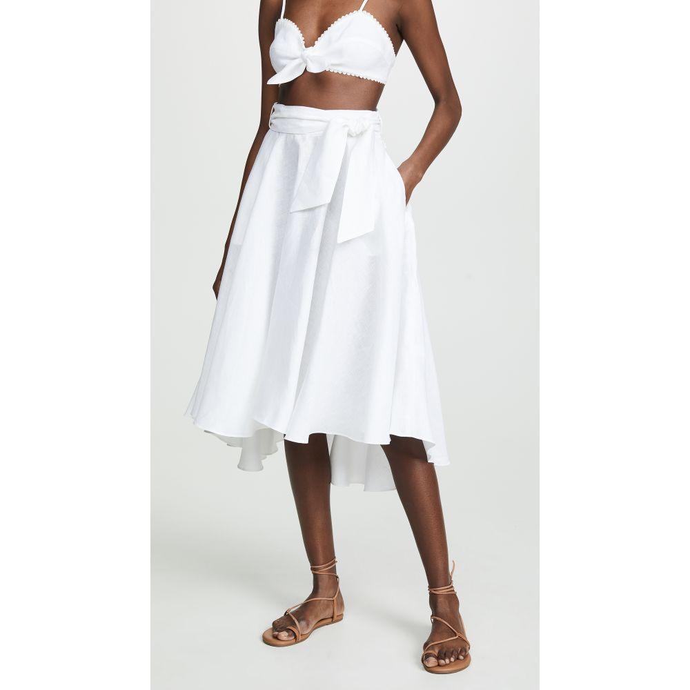 ミグエリーナ Miguelina レディース ビーチウェア スカート 水着・ビーチウェア【Gale Skirt】Pure White
