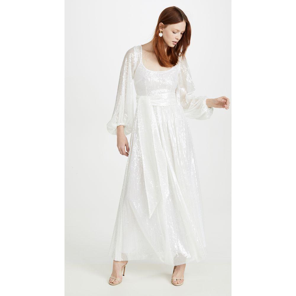 スタウド STAUD レディース ワンピース ワンピース・ドレス【Sequin Dress】Clear Sequin