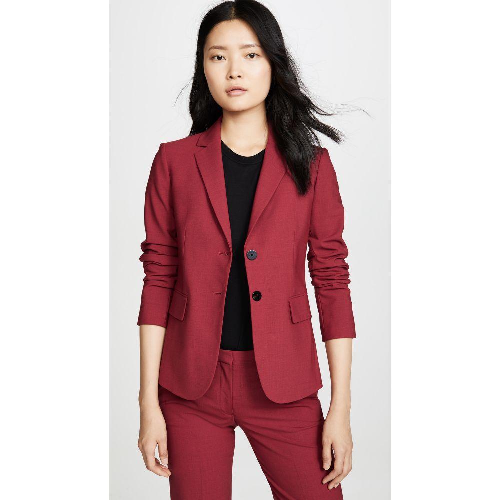 セオリー Theory レディース スーツ・ジャケット アウター【Carissa Blazer】Crimson