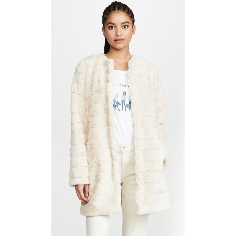 ビービーダコタ BB Dakota レディース ジャケット アウター【Anything For You Faux Fur Jacket】Ivory