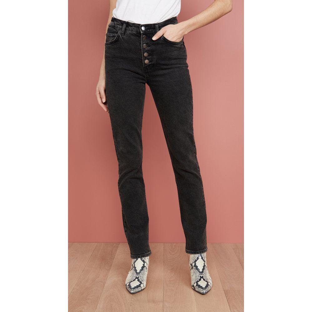 リフォーメーション Reformation レディース ジーンズ・デニム ボトムス・パンツ【Liza High Straight Button Fly Jeans】Yuma