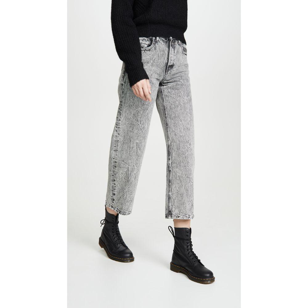 アレキサンダー ワン Denim x Alexander Wang レディース ジーンズ・デニム ボトムス・パンツ【Curb Jeans】Light Grey Crinkle