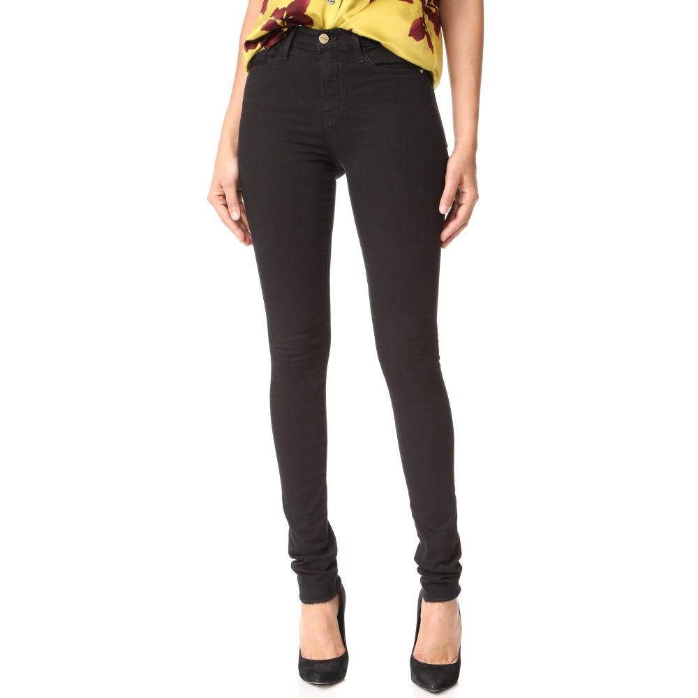 フレーム FRAME レディース ジーンズ・デニム ボトムス・パンツ【Forever Karlie Tall Skinny Jeans】Noir