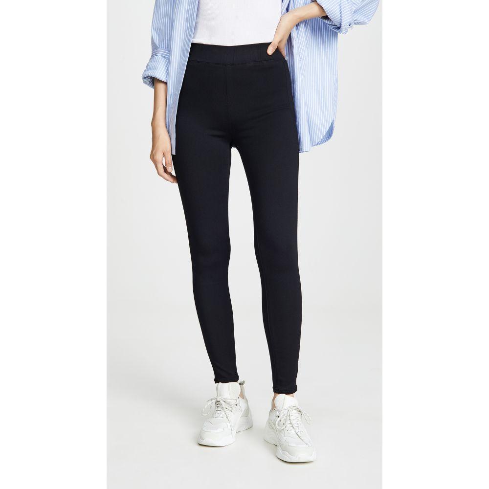 ラジャンス L'AGENCE レディース ジーンズ・デニム ボトムス・パンツ【Rochelle High Rise Pull On Jeans】Noir
