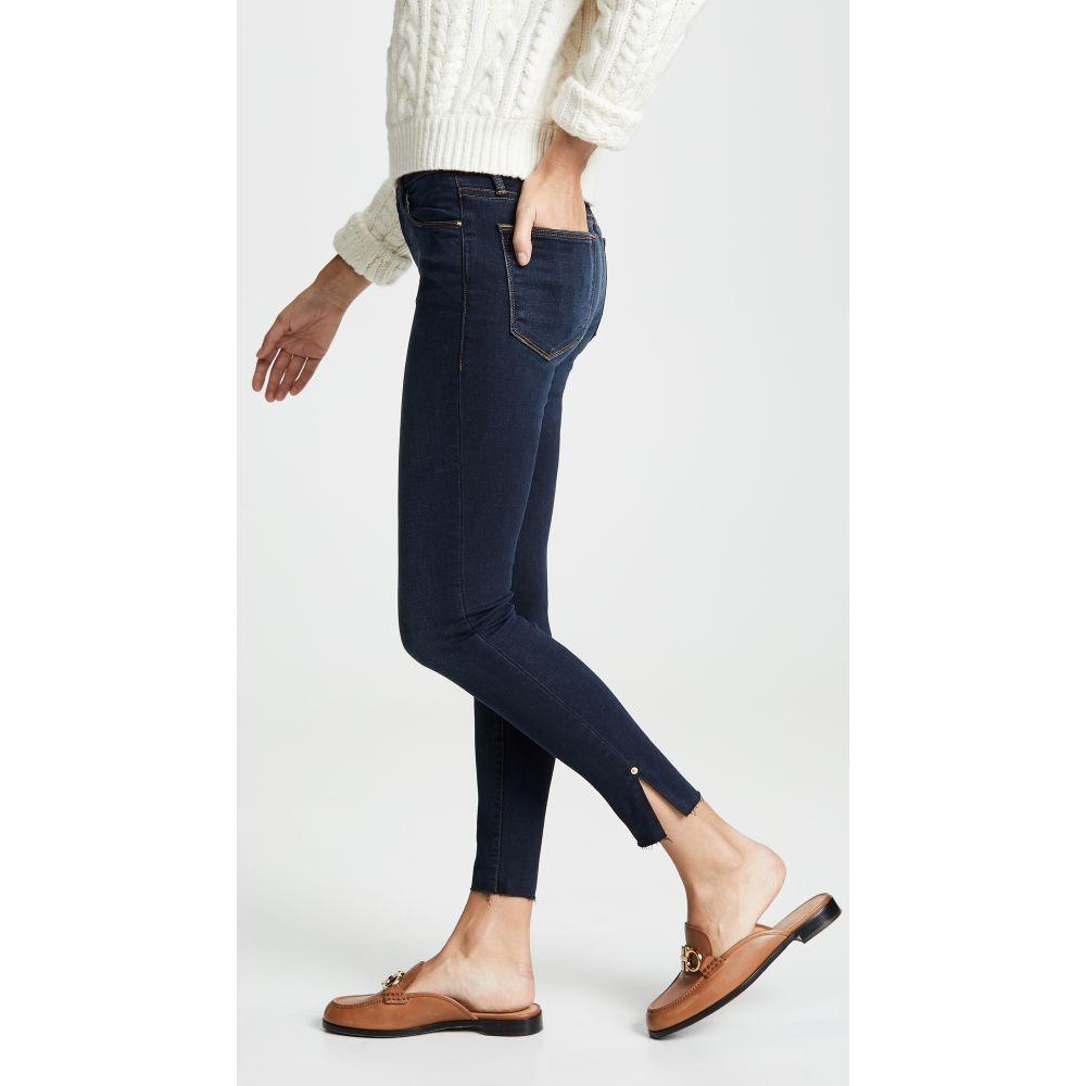 フレーム FRAME レディース ジーンズ・デニム ボトムス・パンツ【Le High Skinny Raw Edge Slit Rivet Jeans】Fonda