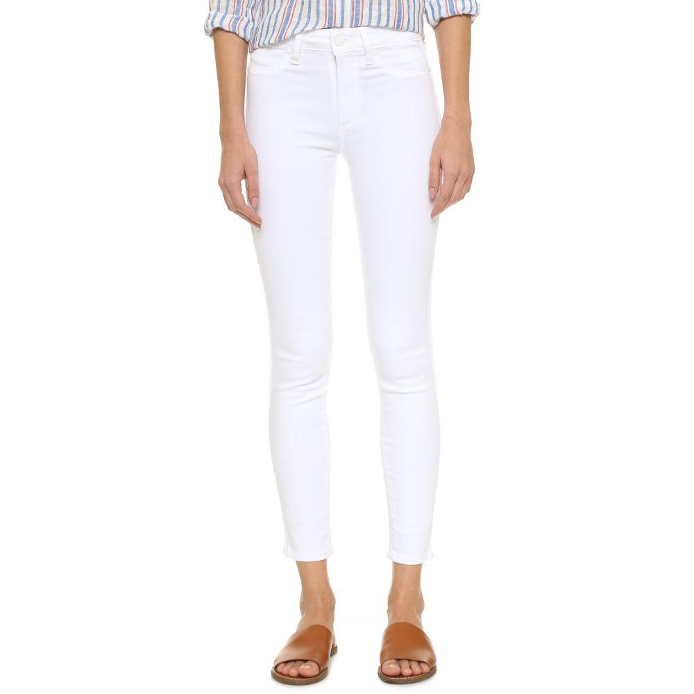 ペイジ PAIGE レディース ジーンズ・デニム ボトムス・パンツ【Hoxton Ankle Skinny Jeans】Ultra White