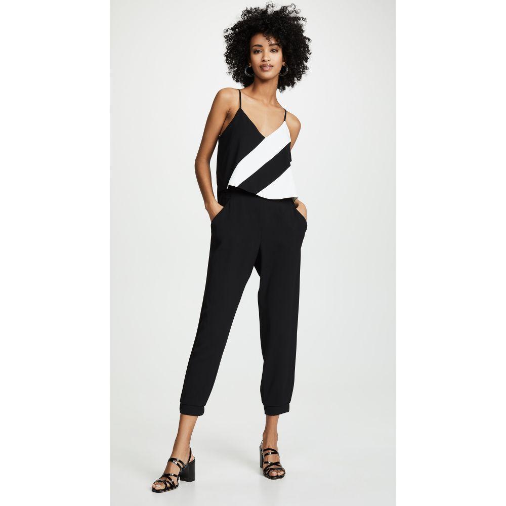 パーカー Parker レディース オールインワン ジャンプスーツ ワンピース・ドレス【Frida Combo Jumpsuit】Black/Pearl