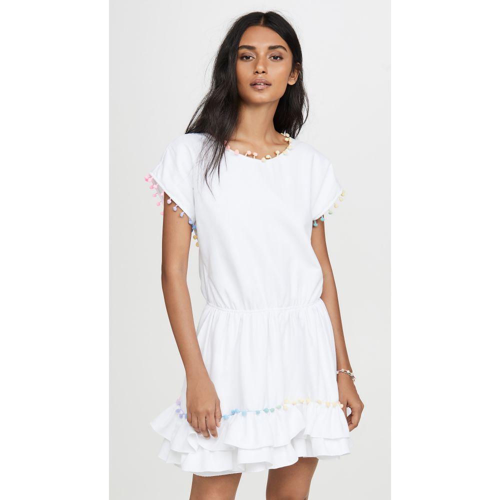 ペイショット Peixoto レディース ビーチウェア ワンピース・ドレス 水着・ビーチウェア【Pom Pom Mini Dress】White Pastel