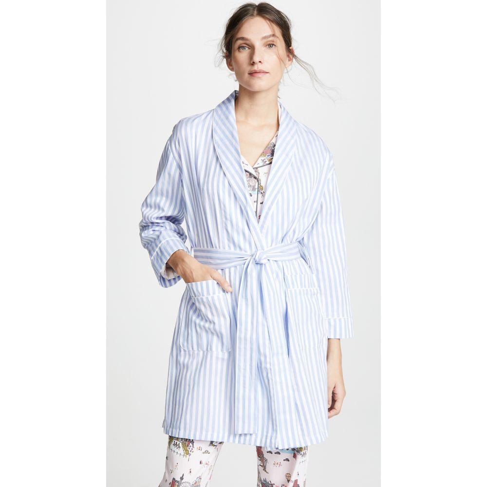ベッドヘッド BedHead Pajamas レディース ガウン・バスローブ インナー・下着【Blue Stripe Robe】Blue Stripe