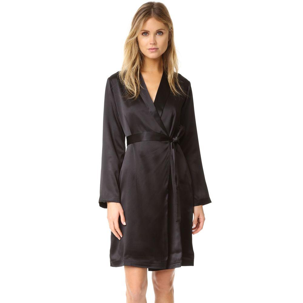 ラ ペルラ La Perla レディース ガウン・バスローブ ショート丈 インナー・下着【Silk Short Robe】Black