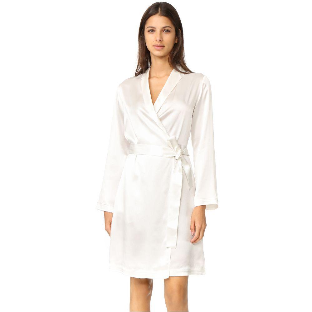 ラ ペルラ La Perla レディース ガウン・バスローブ ショート丈 インナー・下着【Silk Short Robe】White