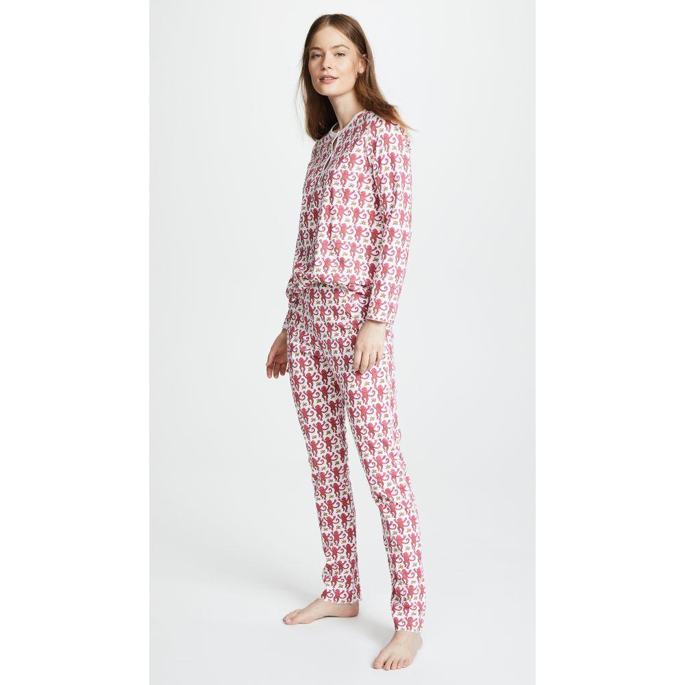 ローラー ラビット Roller Rabbit レディース パジャマ・上下セット インナー・下着【Monkey PJ Set】Pink