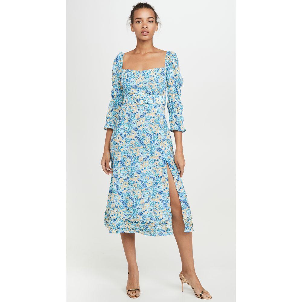 パロマ ブルー PALOMA BLUE レディース ビーチウェア ワンピース・ドレス 水着・ビーチウェア【Isla Dress】Pansy Blue