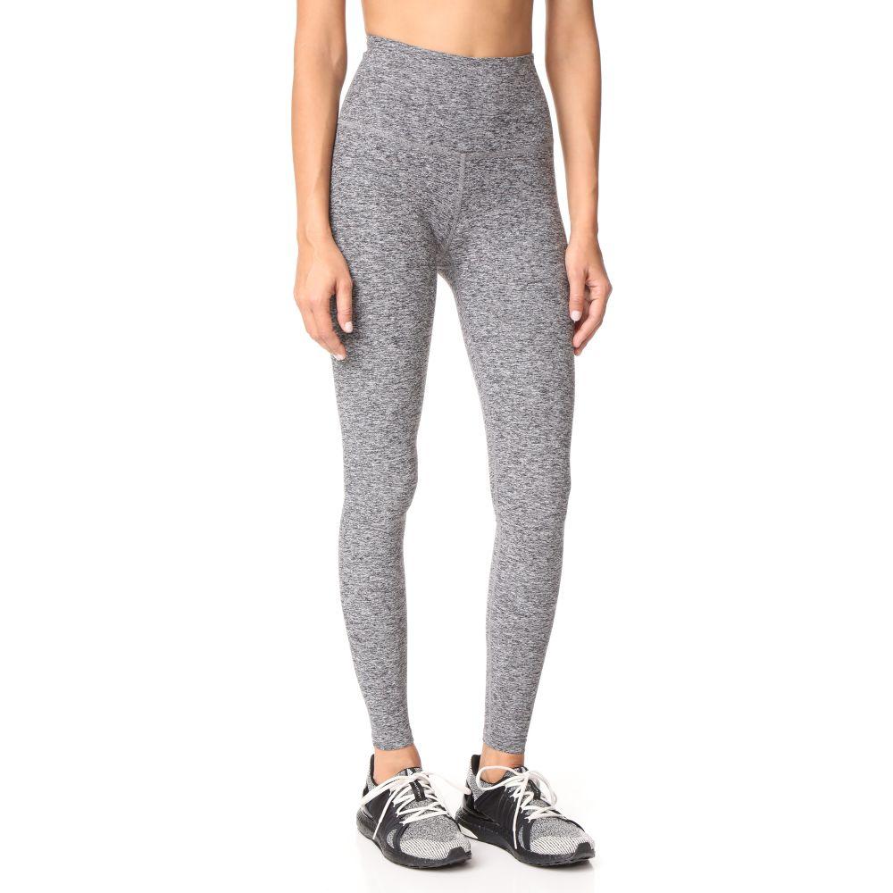 ビヨンドヨガ Beyond Yoga レディース スパッツ・レギンス インナー・下着【High Waist Long Leggings】Black/White Space Dye
