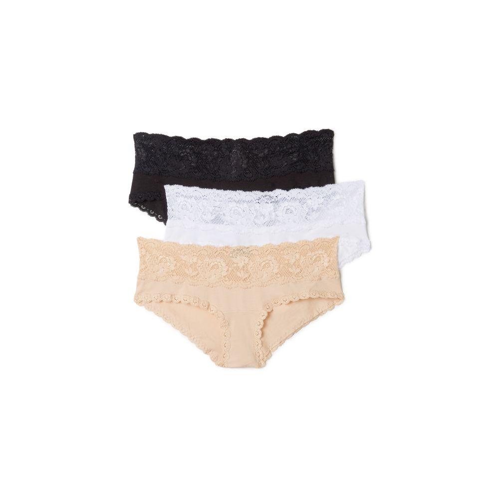 コサベラ Cosabella レディース ショーツのみ 3点セット マタニティウェア インナー・下着【Maternity Hotpant 3 Pack】Black/White/Blush