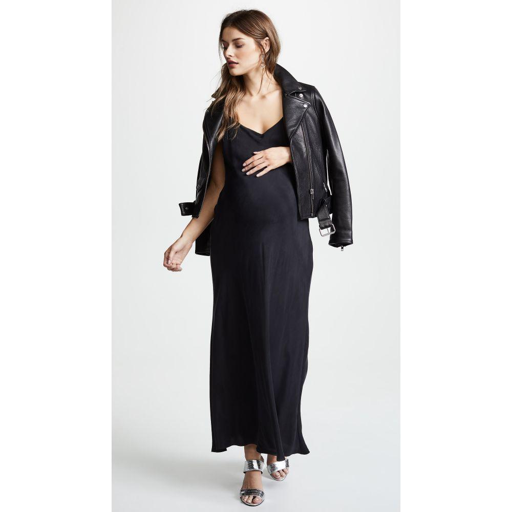 ハッチ HATCH レディース ワンピース スリップドレス ワンピース・ドレス【The Ricky Slip Dress】Black
