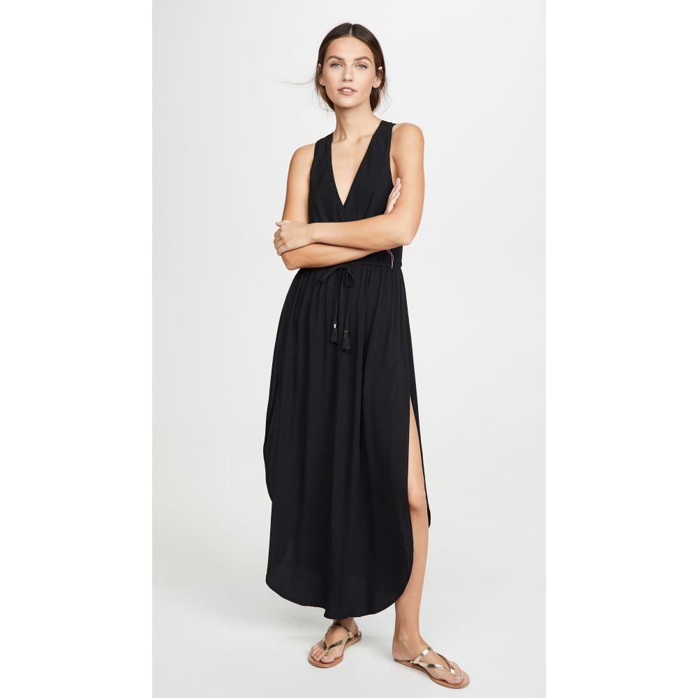 エルスペース L*Space レディース ビーチウェア ワンピース・ドレス 水着・ビーチウェア【Kenzie Cover Up Dress】Black