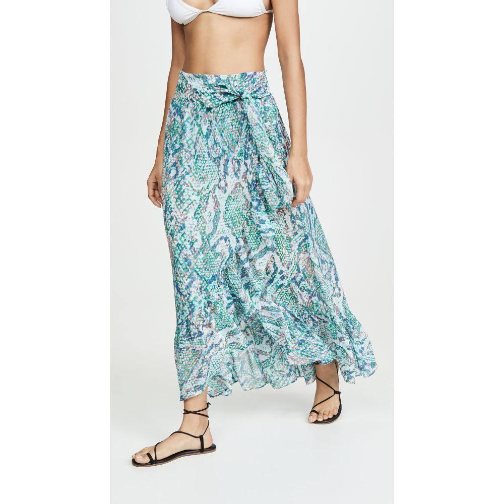 ロミー ブルック Ramy Brook レディース ビーチウェア スカート 水着・ビーチウェア【Printed Verona Skirt】Turq Combo
