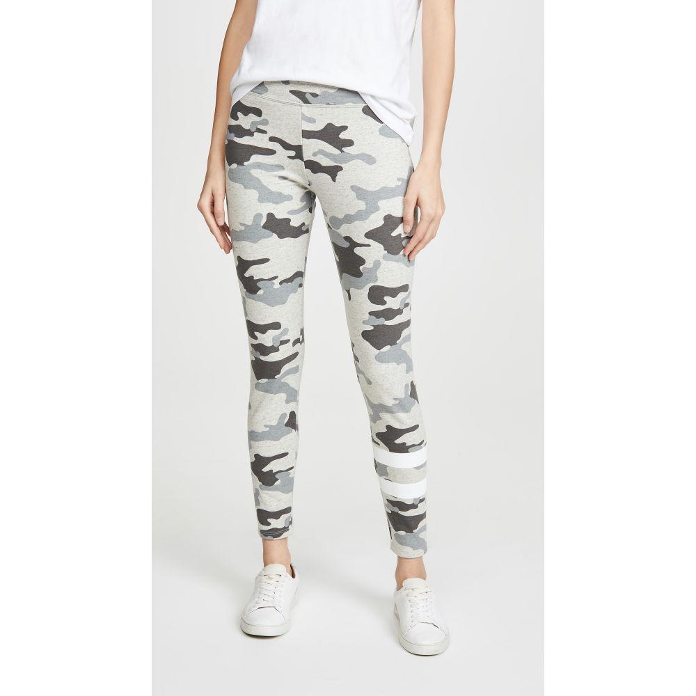 サンドリー SUNDRY レディース ヨガ・ピラティス ボトムス・パンツ【Camo Yoga Pants】Light Grey