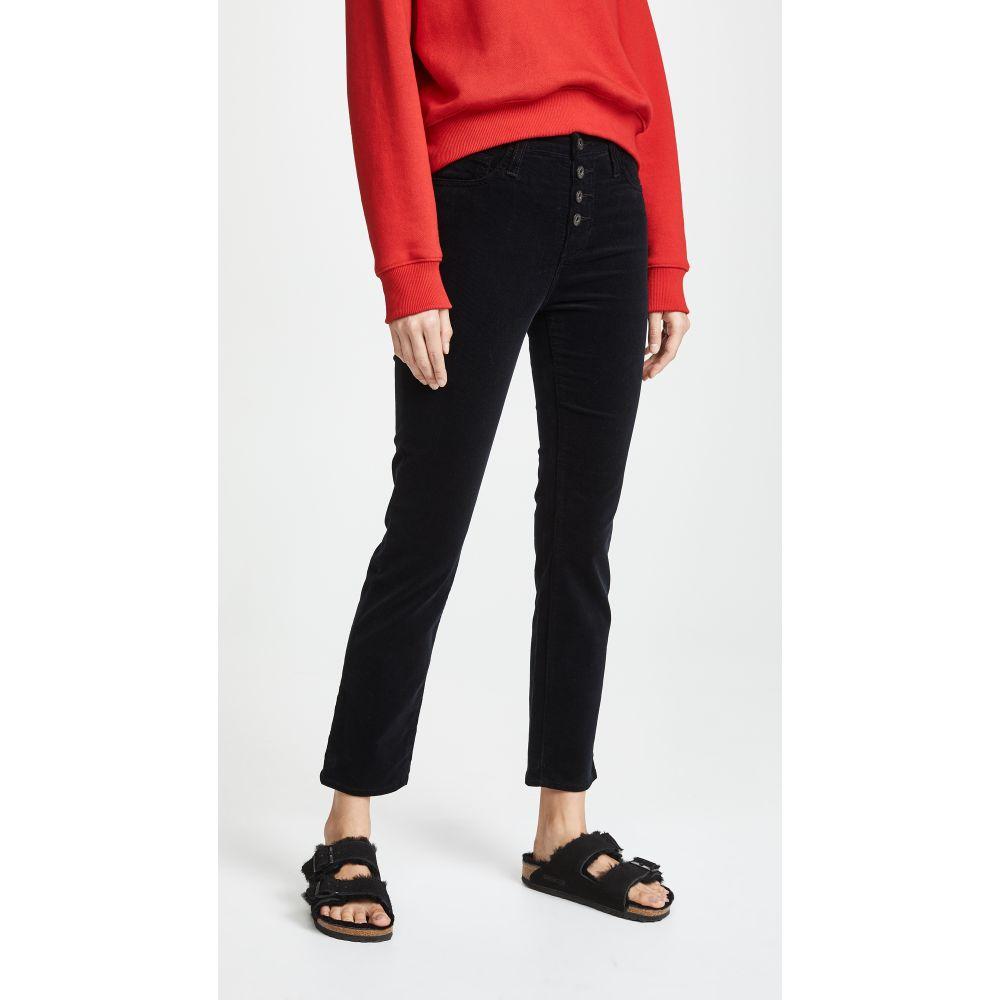 エージー AG レディース ジーンズ・デニム ボトムス・パンツ【The Isabelle Button Up Jeans】Super Black