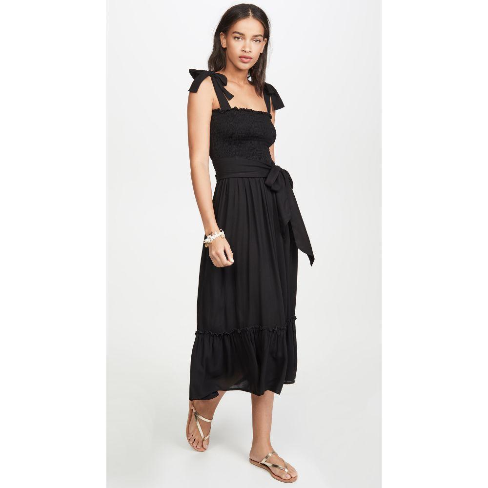 クールチェンジ coolchange レディース ビーチウェア ワンピース・ドレス 水着・ビーチウェア【Priscilla Dress】Black Solid Dobby
