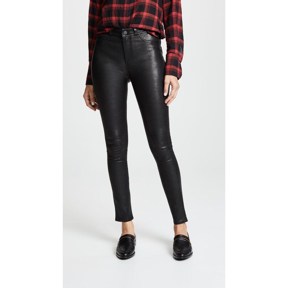 <title>ペイジ 使い勝手の良い レディース ボトムス パンツ スキニー スリム サイズ交換無料 PAIGE レザーパンツ Hoxton Stretch Leather Pants Black</title>