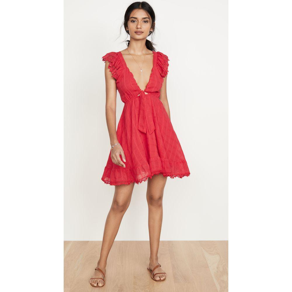 ペイショット Peixoto レディース ビーチウェア ワンピース・ドレス 水着・ビーチウェア【Farrah Dress】Red Sangria