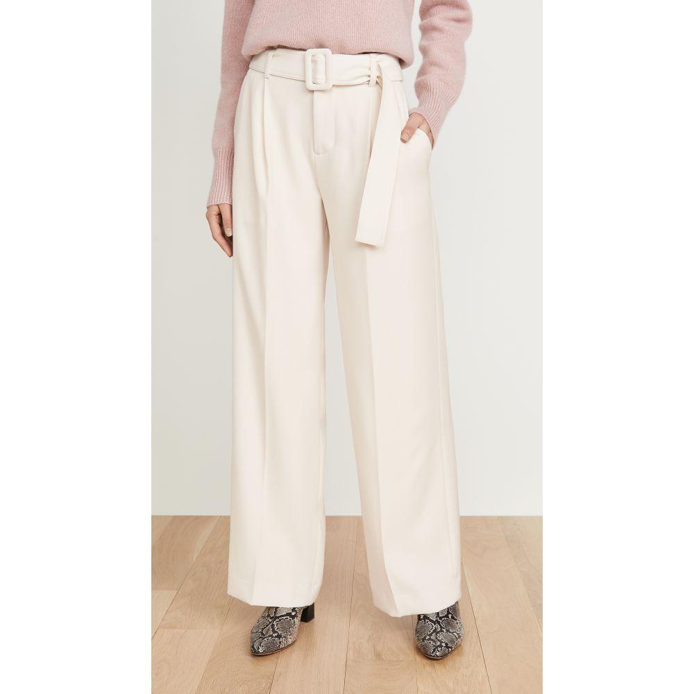 ヴィンス Vince レディース ボトムス・パンツ ワイドパンツ【Belted Wide Leg Pants】Magnolia