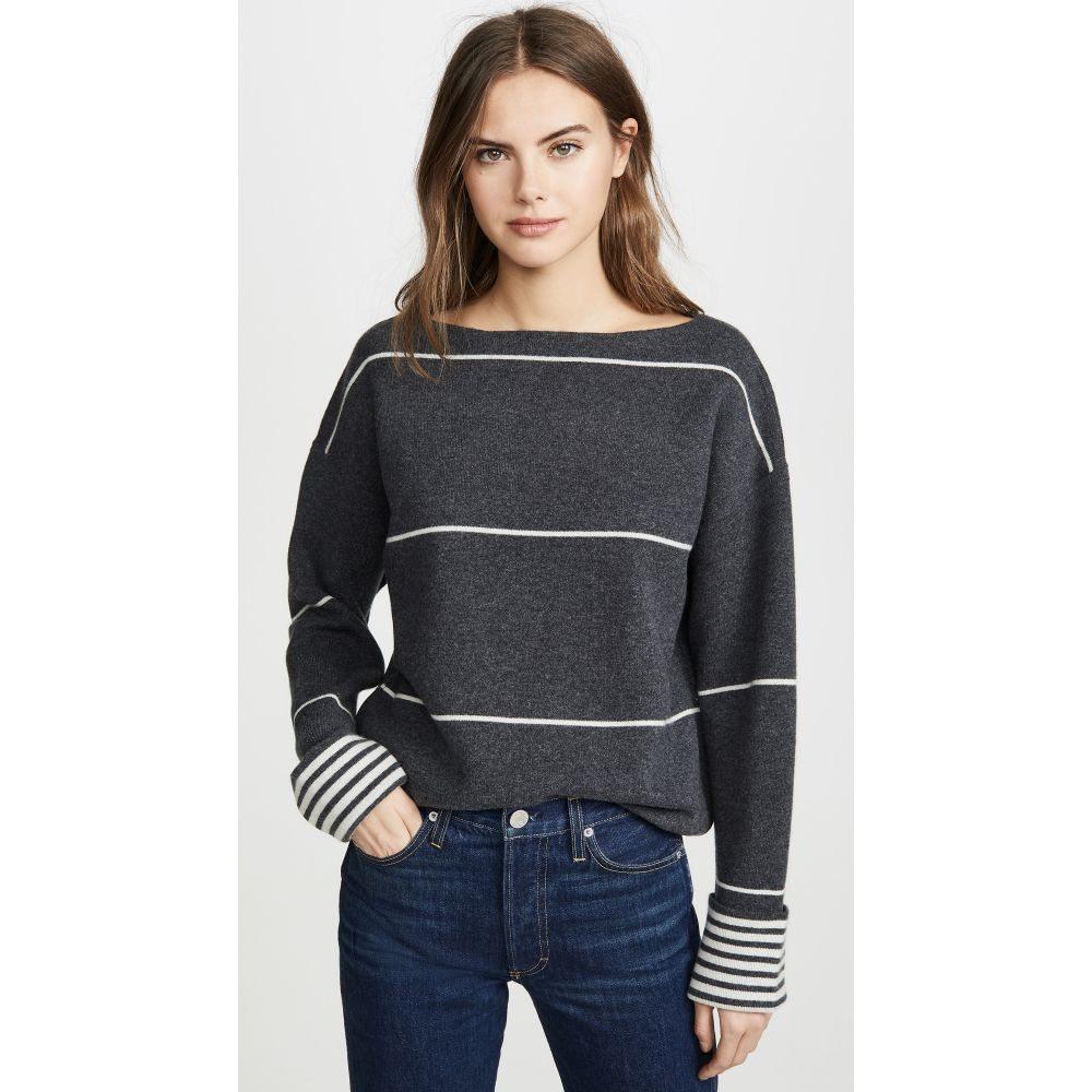 クラブ モナコ Club Monaco レディース ニット・セーター トップス【Esquinah Cashmere Sweater】Charcoal Multi