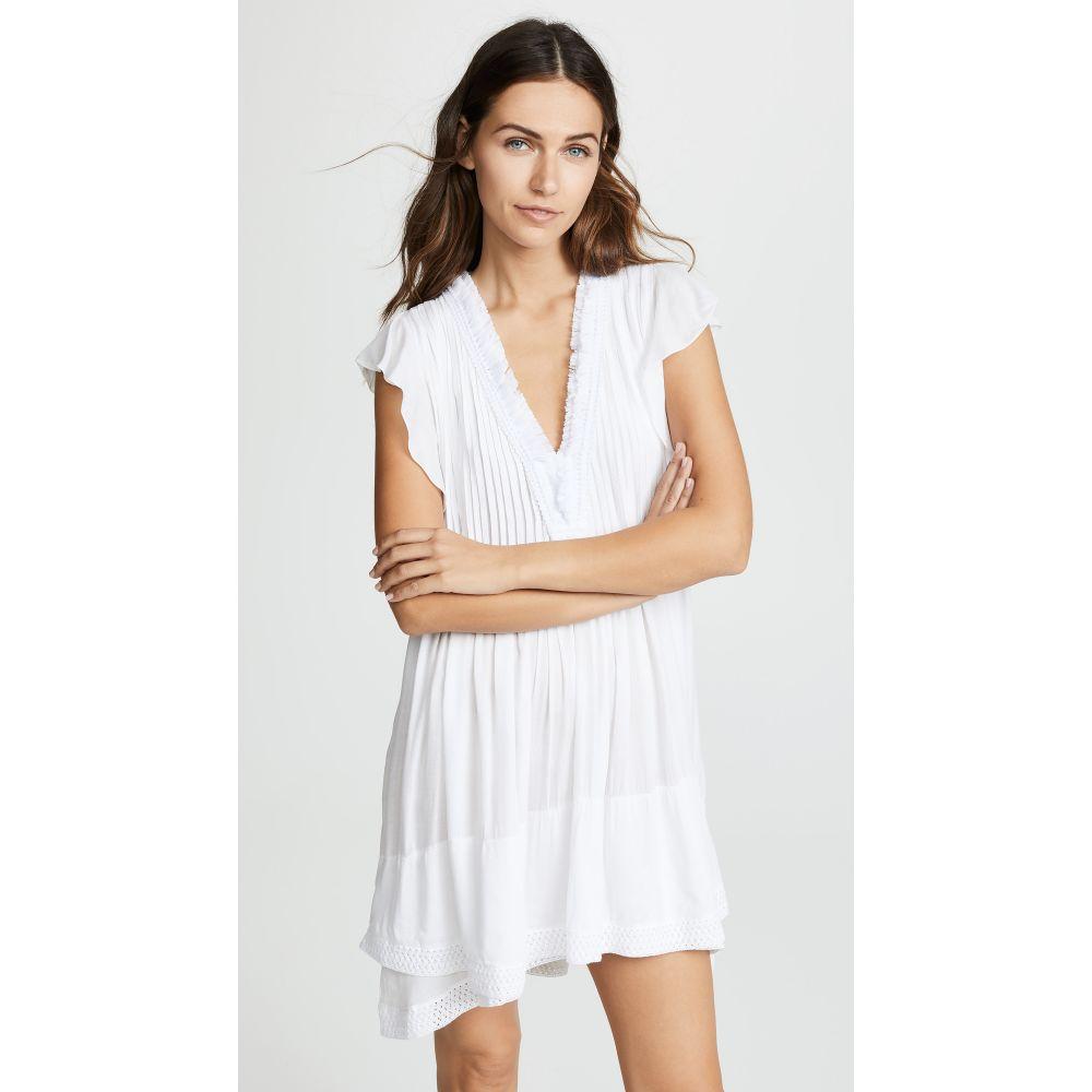 プーペット セント バース Poupette St Barth レディース ビーチウェア ワンピース・ドレス 水着・ビーチウェア【Sasha Mini Dress】White