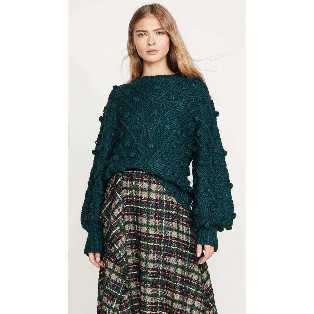 カメオ C/Meo Collective レディース ニット・セーター トップス【Trade Places Knit Sweater】Forest