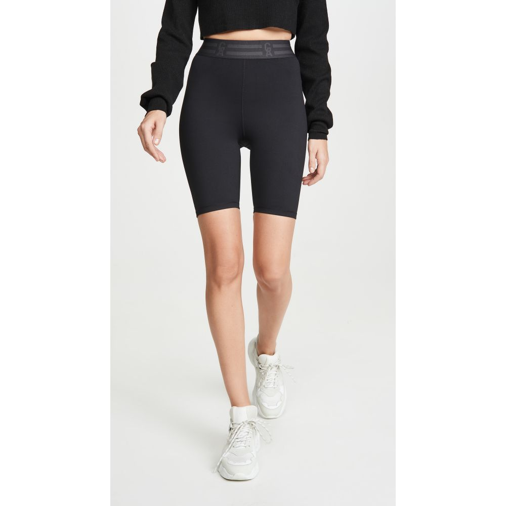 グッド アメリカン アクティブ Good American Active レディース ショートパンツ ボトムス・パンツ【The Icon Bike Shorts】Black