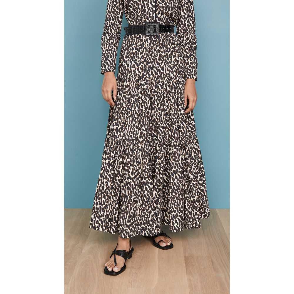 【現品限り一斉値下げ!】 ラダブルジェー La Skirt】Leopard Double J レディース スカート La【Big スカート Skirt】Leopard, 平和町:78f8a447 --- ironaddicts.in