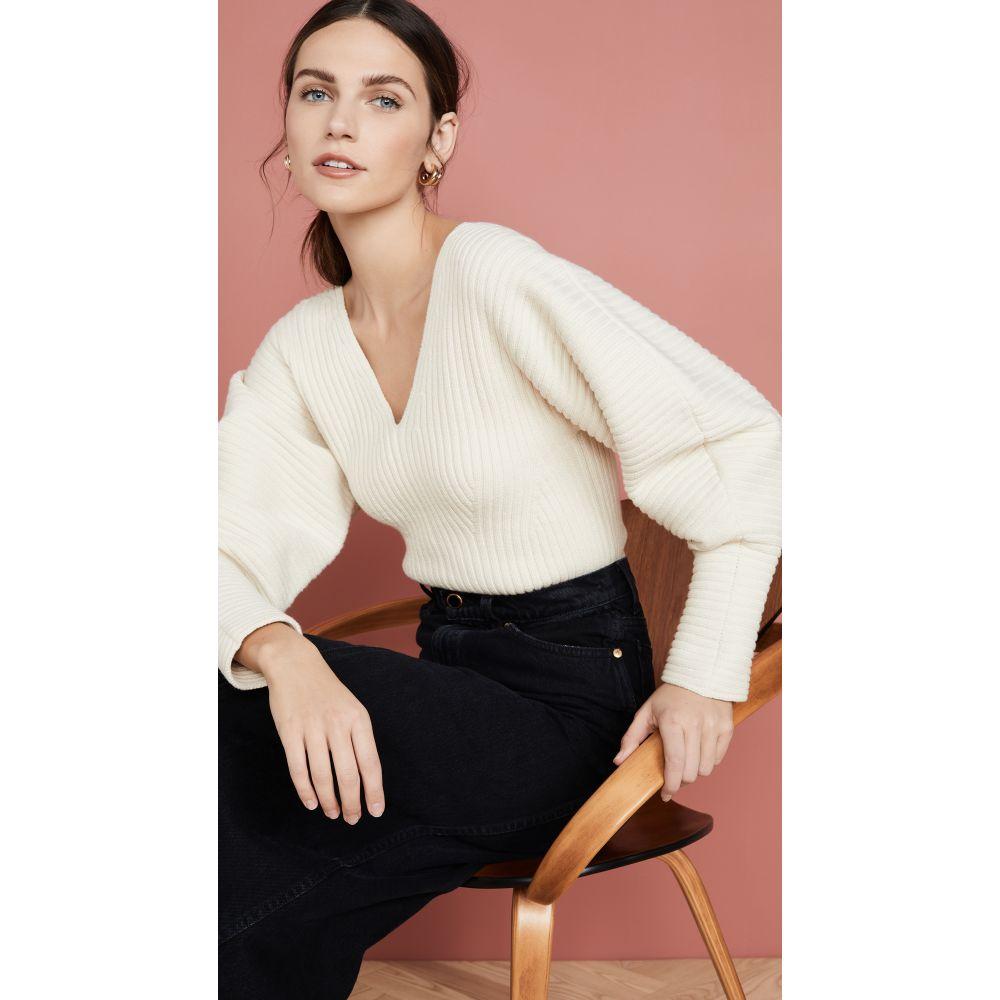 マラ ホフマン Mara Hoffman レディース ニット・セーター トップス【Olla Sweater】Cream