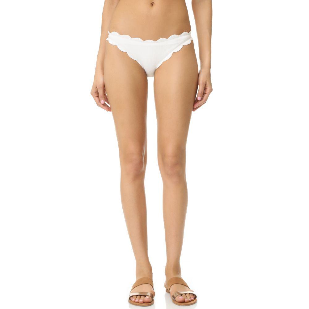 マリシアス Marysia レディース ボトムのみ 水着・ビーチウェア【Antibes Scallop Bikini Bottoms】Coconut