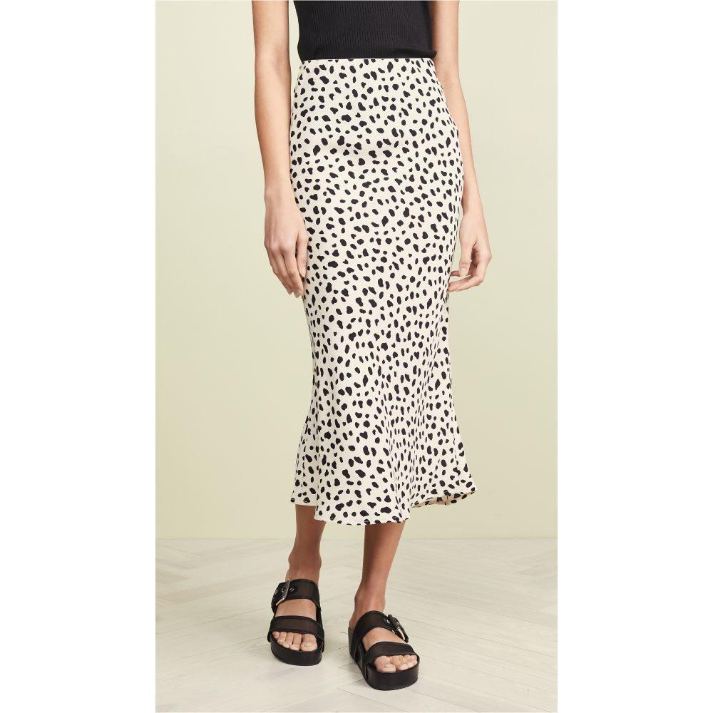 ムーンリバー Moon River レディース ひざ丈スカート スカート【Leopard Print Skirt】Leopard Print