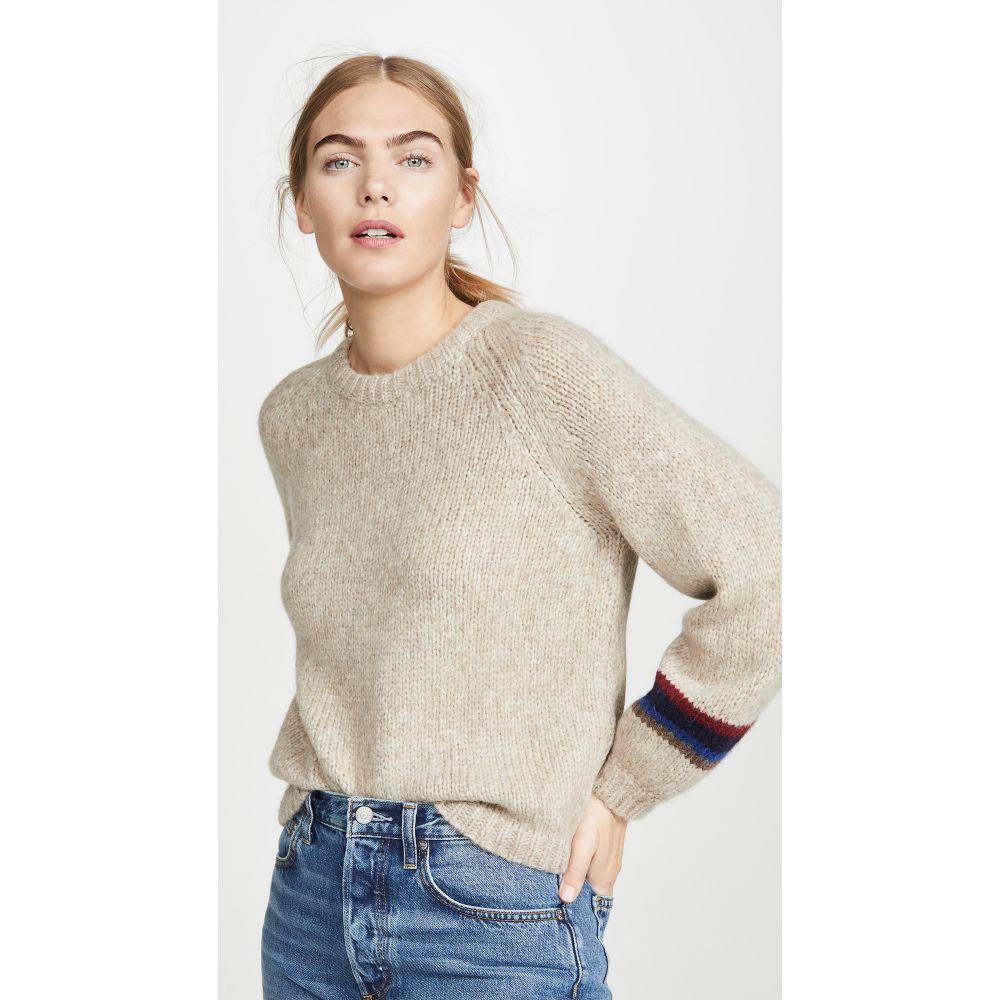 ベルベット グラハム&スペンサー Velvet レディース ニット・セーター トップス【Addie Alpaca Sweater】Oatmeal