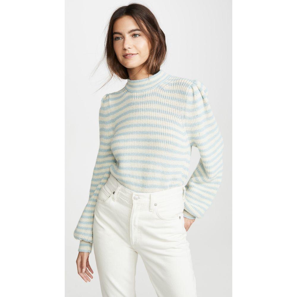 イレブンシックス Eleven Six レディース ニット・セーター トップス【Mia Alpaca Sweater】Mint/Ivory