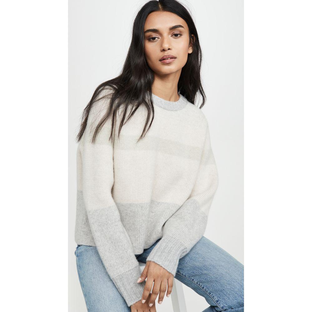 ルカシャ Le Kasha レディース ニット・セーター トップス【Cashmere Sweater with Big Sleeves and Double Neck】Light Pink