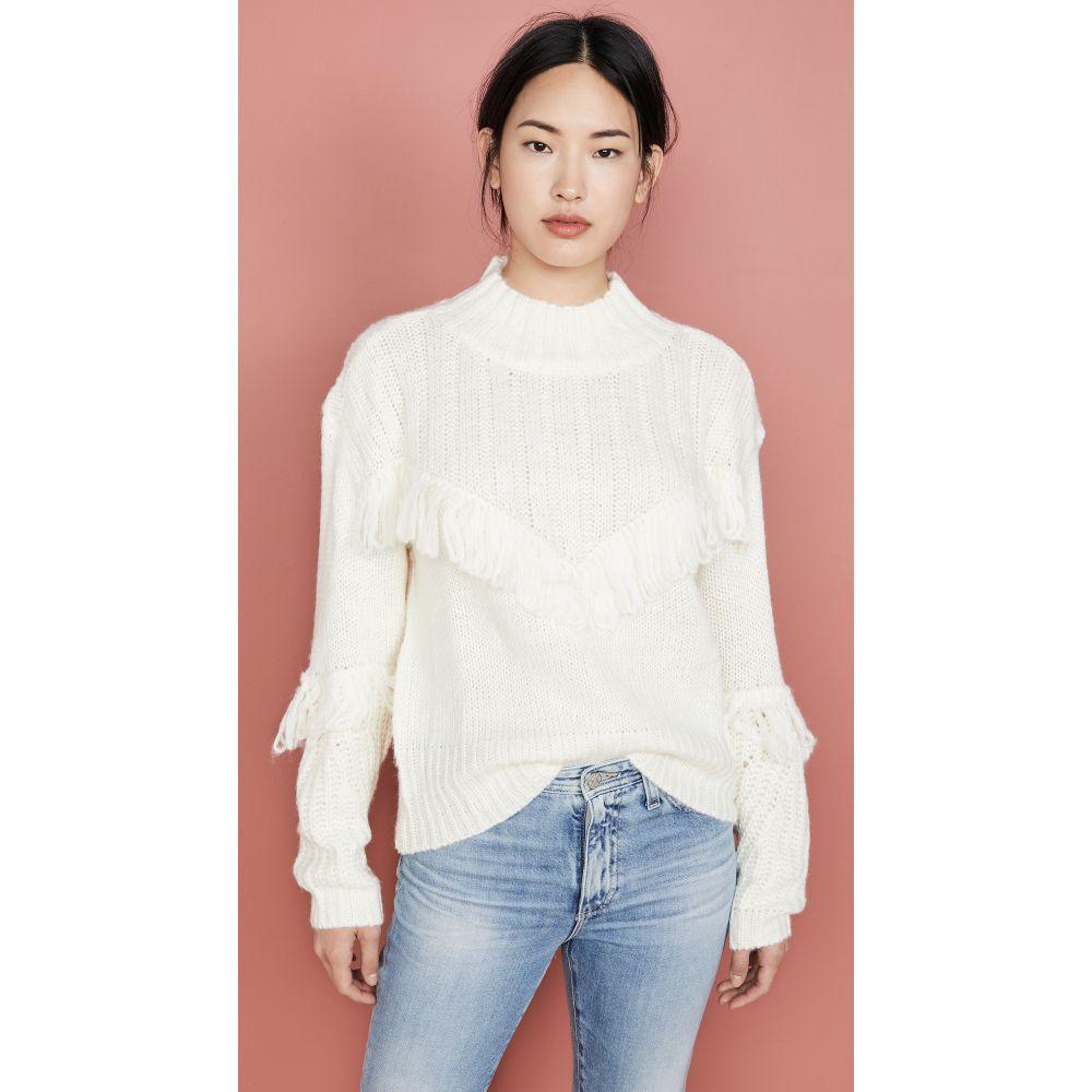 ライン アンド ドット Line & Dot レディース ニット・セーター トップス【Whistler Sweater】Off White