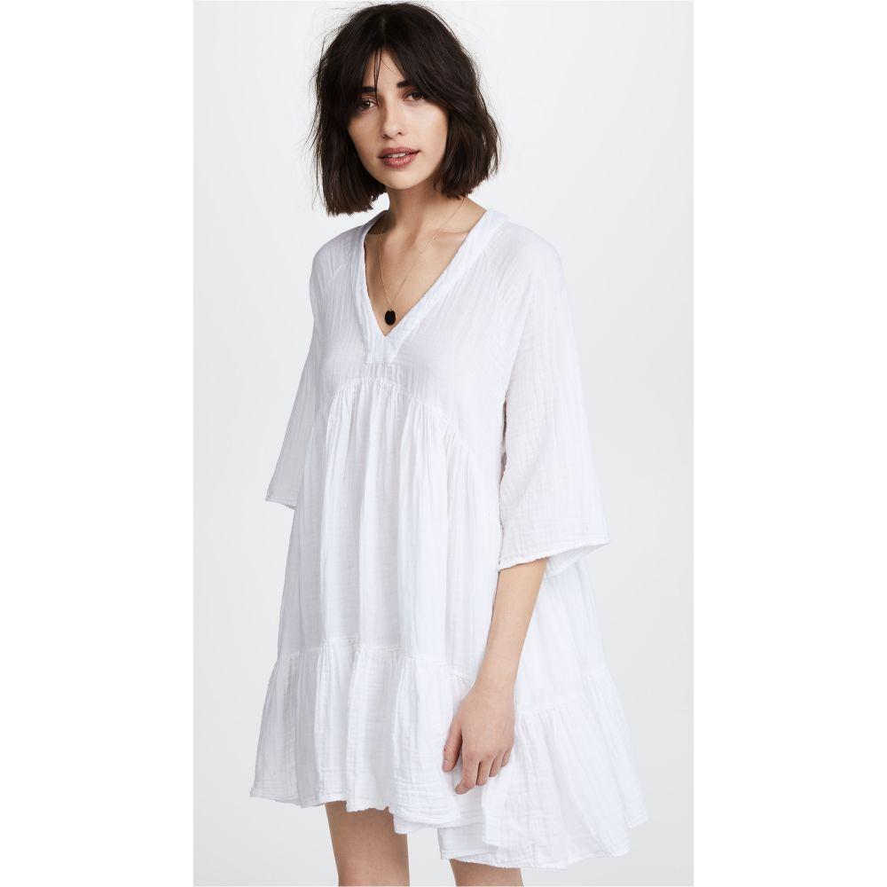 ナインシード 9seed レディース ビーチウェア ワンピース・ドレス 水着・ビーチウェア【Marbella Ruffle Dress】White