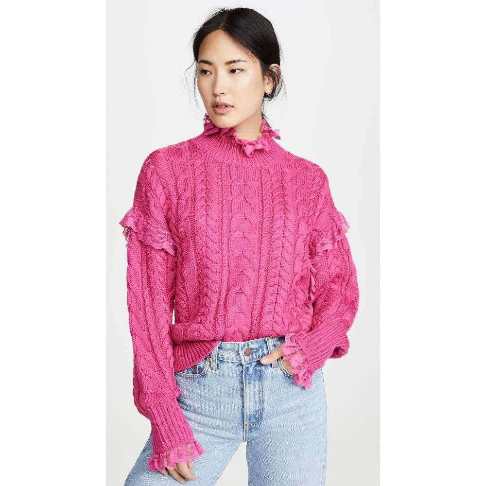 ペーパーロンドン PAPER London レディース ニット・セーター トップス【Iris Sweater】Pink