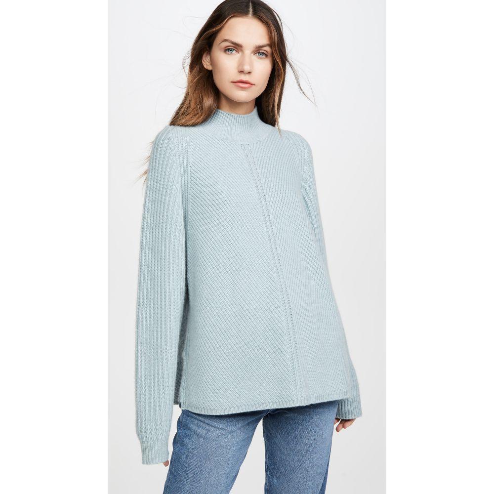 ルカシャ Le Kasha レディース ニット・セーター トップス【Oversized Cashmere Sweater】Light Blue
