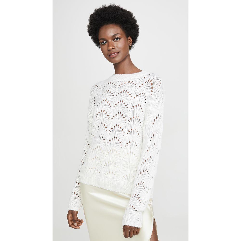 サブリン Sablyn レディース ニット・セーター トップス【Stevie Knit Cashmere Sweater】Winter White