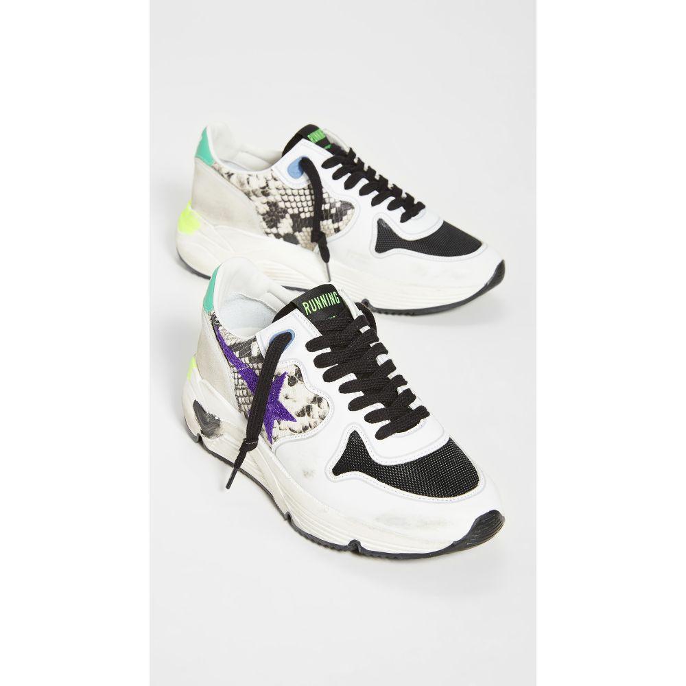 ゴールデン グース Golden Goose レディース ランニング・ウォーキング スニーカー シューズ・靴【Running Sole Sneakers】Natural/Violet