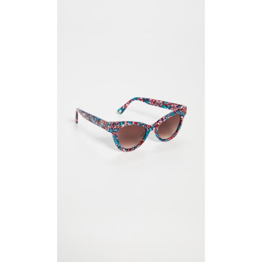 レレ サドイ Lele Sadoughi レディース メガネ・サングラス 【Uptown Cateye Sunglasses】Flamingo Pink