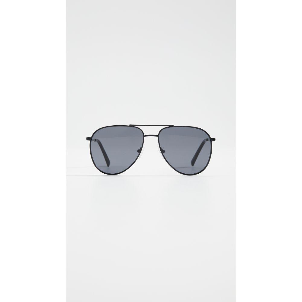 ル スペックス Le Specs レディース メガネ・サングラス 【Road Trip Sunglasses】Matte Black/Smoke Mono